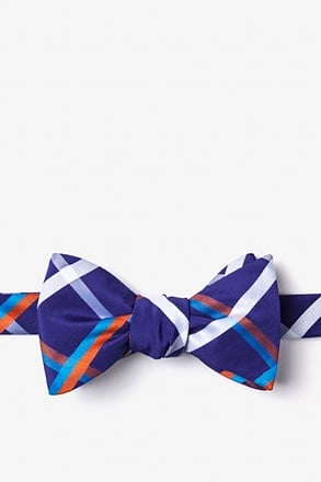 Bellingham Blue Self-Tie Bow Tie