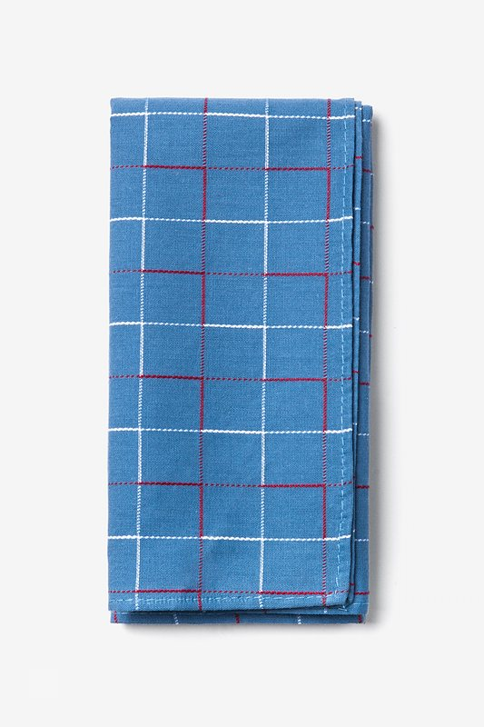 Blue Maison Pocket Square