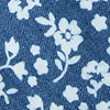 Blue Cotton Bluebell Extra Long Tie