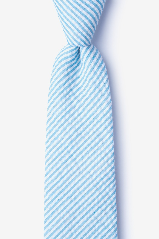Clyde Blue Extra Long Tie Photo (0)