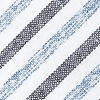 Blue Cotton Englewood Extra Long Tie