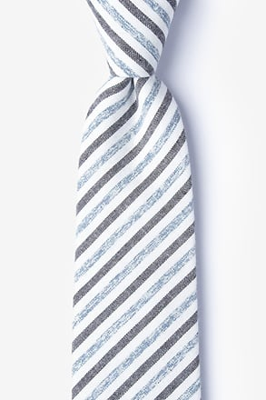 Englewood Blue Extra Long Tie