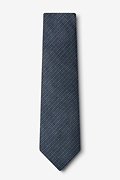 Gilbert Blue Extra Long Tie Photo (1)
