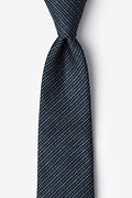 Blue Cotton Gilbert Extra Long Tie