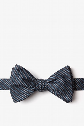 _Gilbert Blue Self-Tie Bow Tie_