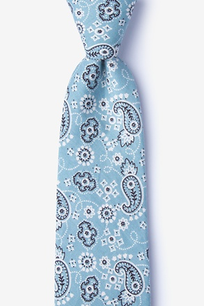 Grove Blue Extra Long Tie