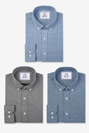 _Keep It Casual Blue Shirt Pack_