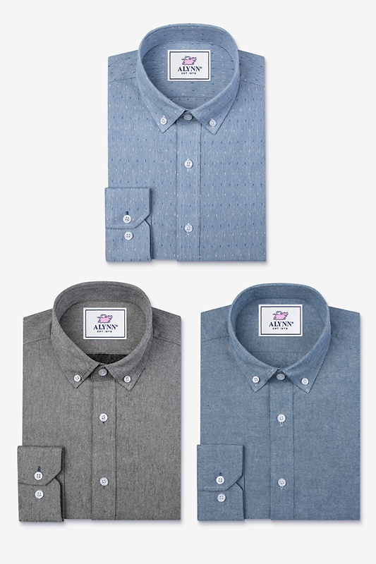 Keep It Casual Blue Shirt Pack Photo (0)