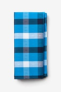 Blue Cotton Kennewick Pocket Square