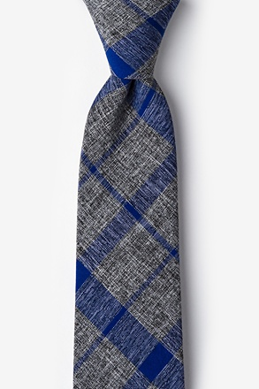 Kirkland Blue Extra Long Tie