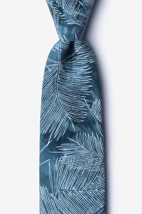 Medina Blue Extra Long Tie