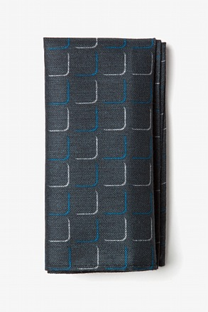 Mesa Blue Pocket Square