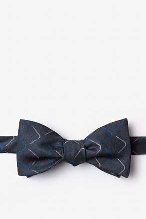 Mesa Blue Self-Tie Bow Tie