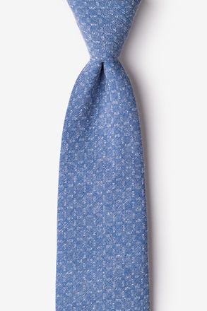 Nixon Blue Extra Long Tie
