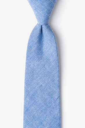 Teague Blue Extra Long Tie