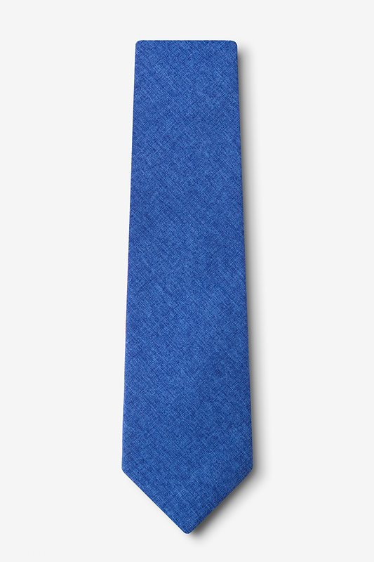 Tioga Blue Extra Long Tie Photo (1)