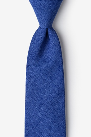 _Tioga Blue Extra Long Tie_