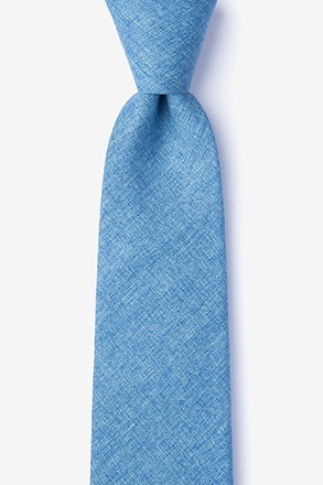 Trenton Blue Extra Long Tie