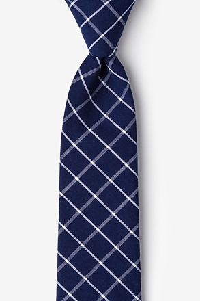 _Tucson Blue Extra Long Tie_