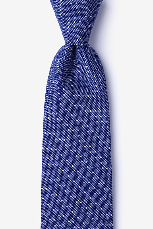 Union Blue Extra Long Tie Photo (0)