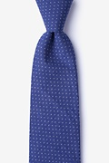 Blue Cotton Union Tie