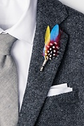 Feather Lapel Pin