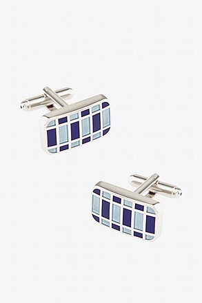 Abstract Geo Cufflinks