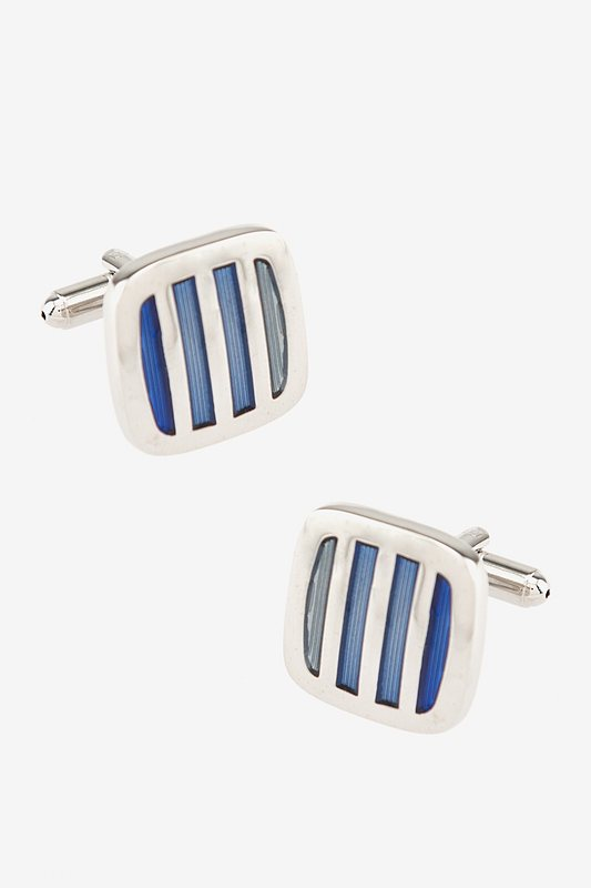Barred In Gradient Cufflinks