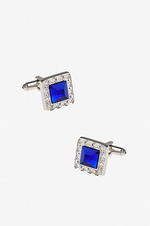 Bejeweled Frame Cufflinks
