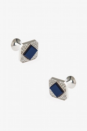 Blingy Cut Off Cufflinks