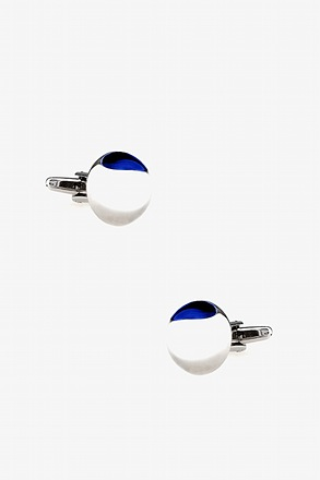 Gemstone Dome Cufflinks