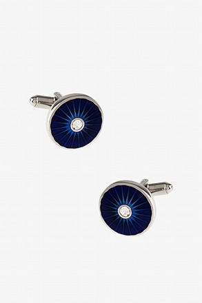 Glitzy Wheel Cufflinks