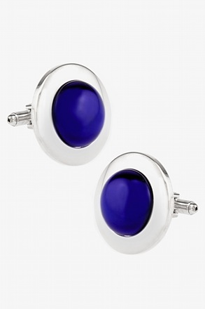 Oversized Cat Eye Cufflinks