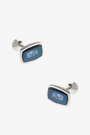 Rectangular Beads Cufflinks