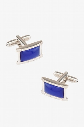 Rounded Rectangle Framed Cufflinks
