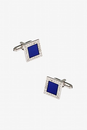 Shimmering Flashy Square Cufflinks