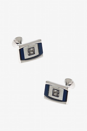 Starry Rectangular Cufflinks