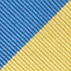 Blue Microfiber Blue & Gold Stripe