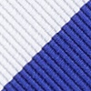Blue Microfiber Blue & White Stripe