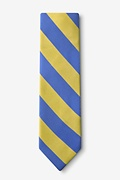 Blue & Gold Stripe Tie Photo (1)