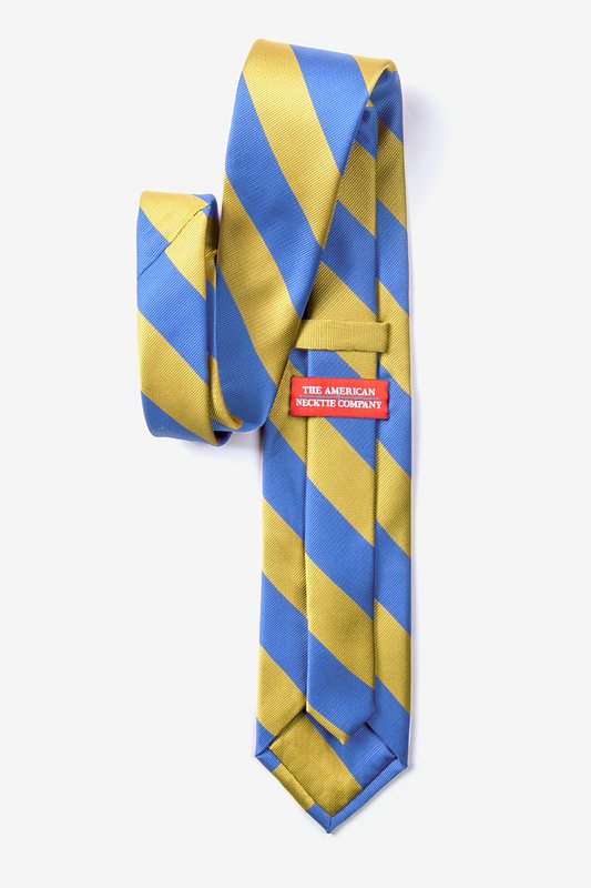 Blue & Gold Stripe Tie Photo (2)