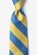 Blue & Gold Stripe Tie Photo (0)