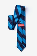 Blue & Navy Stripe Extra Long Tie