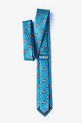 Corgi Dogs Skinny Tie Photo (1)