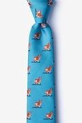 Corgi Dogs Skinny Tie Photo (0)