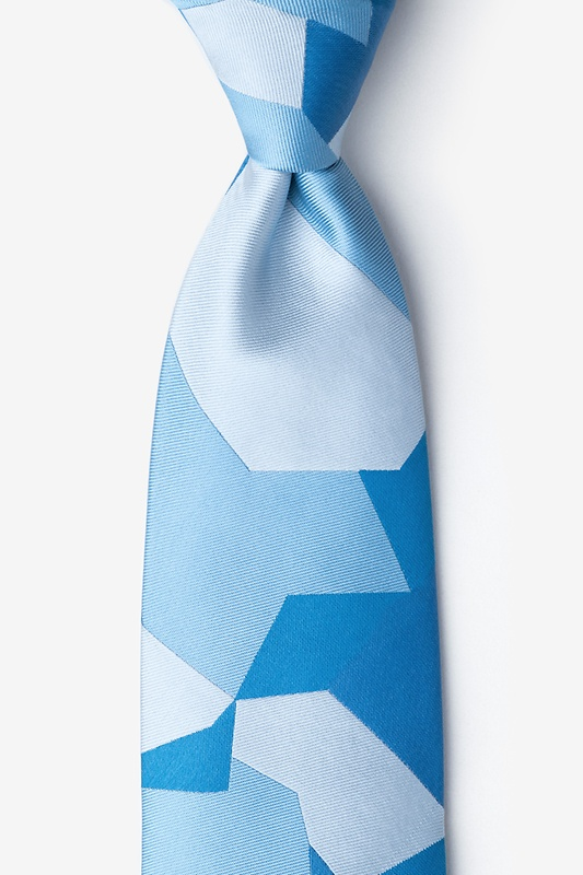 Geometric Camo Tie Photo (0)