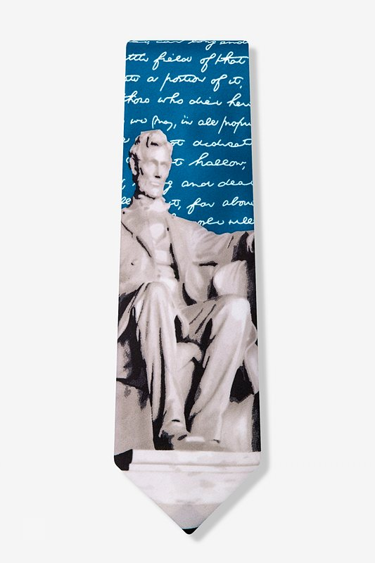 Lincoln Blue Tie Photo (1)