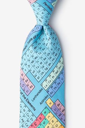 _Periodic Table Extra Long Tie_