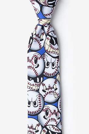 Play Hard Baseball Tie For Boys