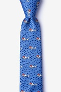 Santa Sharks Skinny Tie Photo (0)